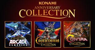 Konami festeggia 50 anni annunciando Contra, Castlevania e Arcade Classics Collection