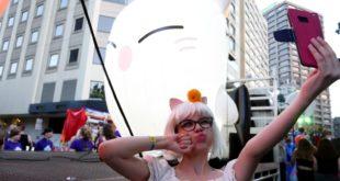 Le prime immagini della parata del Mardi Gras del Sidney Gay & Lesbian con Final Fantasy XIV Online