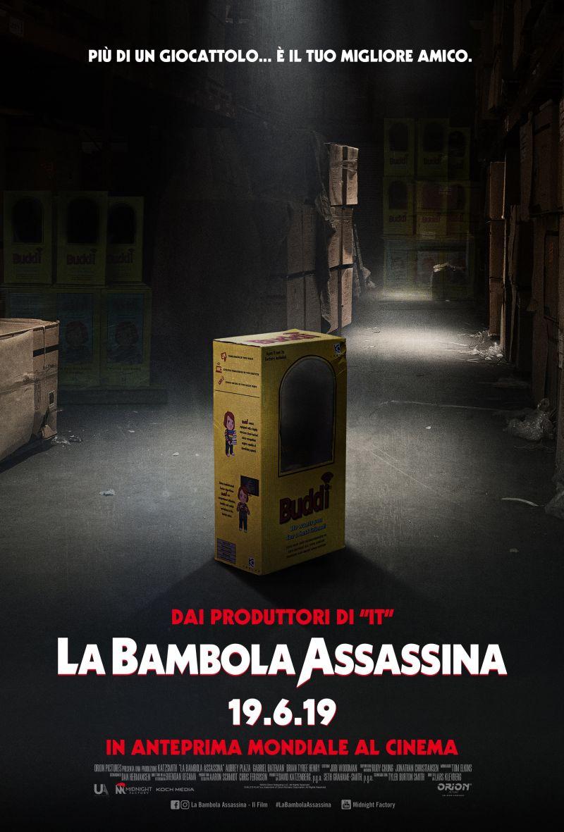 La Bambola Assassina - Teaser Poster Ufficiale Italiano (1)