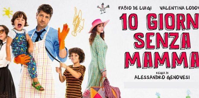10 Giorni Senza Mamma – La commedia con Fabio De Luigi in DVD dal 23 maggio