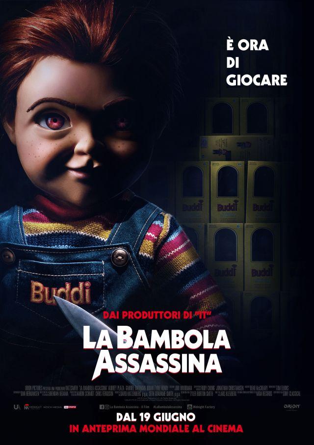 La Bambola Assassina - Poster Ufficiale Italiano