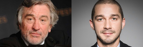 Robert De Niro e Shia LaBeouf nel thriller After Exile