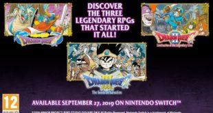 Dragon Quest – La Saga Classica su Nintendo Switch dal 27 Settembre