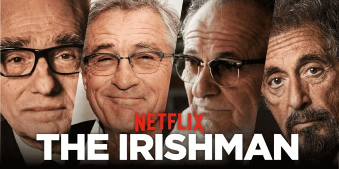 The Irishman – Scorsese alla Festa del Cinema di Roma
