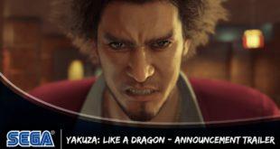 Yakuza: Like a Dragon, il nuovo capitolo dell'acclamata serie di Yakuza, in arrivo in Occidente nel 2020