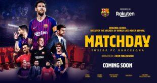 Matchday – Inside FC Barcelona – Serie-documentario narrata da John Malkovich di Rakuten TV