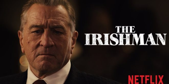 The Irishman, il Trailer finale del film Netflix