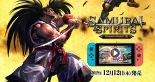 Samurai Shodown – Su Nintendo Switch nel 2020
