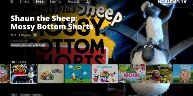 Rakuten TV lancia il Canale per bambini Kids in modalità AVOD