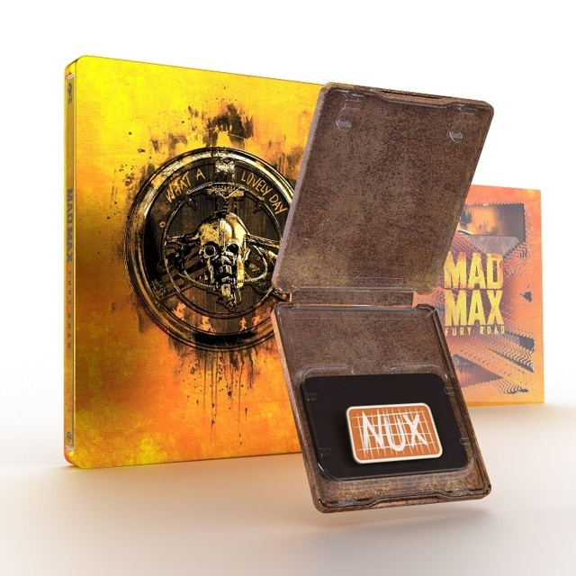 MAD MAX FURY ROAD - Dal 9 luglio 'Titans of Cult' Steelbook Limited Edition