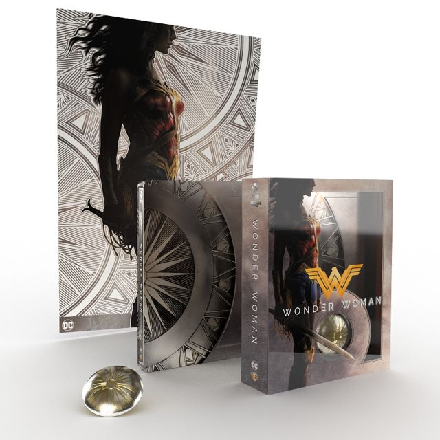 WONDER WOMAN - Dal 4 giugno 'Titans of Cult' Steelbook Limited Edition