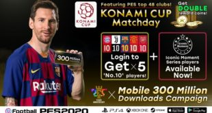 eFootball PES 2020 – Superati i 300 milioni di download per Mobile