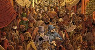 Il Giro del Mondo in 80 Giorni di Jules Verne a fumetti con Tunué