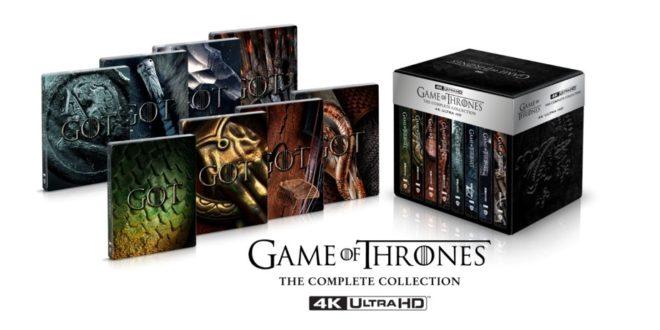 Il Trono di Spade – In arrivo la serie completa in 4K Ultra HD