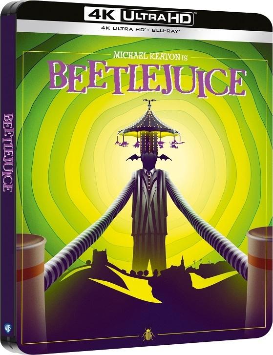 BEETLEJUICE - SPIRITELLO PORCELLO - Dal 29 ottobre in 4K UHD