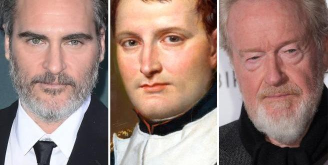 Joaquin Phoenix sarà Napoleone Bonaparte per Ridley Scott