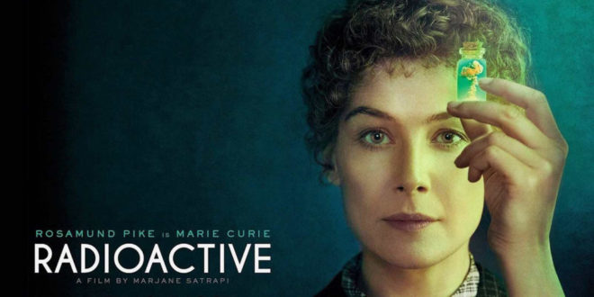 Radioactive – Recensione del Bluray del film con Rosamund Pike