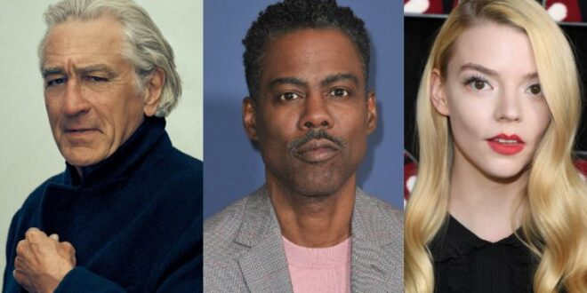 Il supercast del nuovo film di David O. Russell – Margot Robbie, Christian Bale, John David Washington, Robert De Niro, Rami Malek e tanti altri