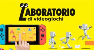 Nintendo presenta il suo Laboratorio di Videogiochi