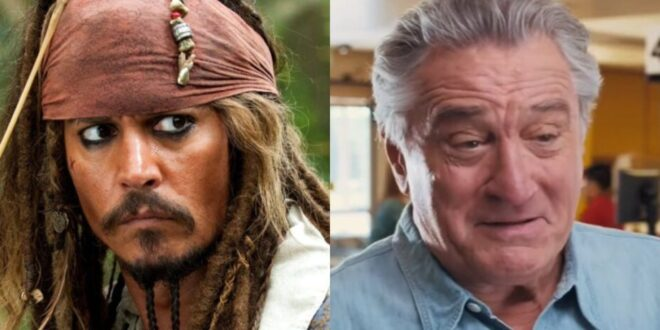 Robert De Niro doveva essere Jack Sparrow, al posto di Johnny Depp, ne La maledizione della prima luna