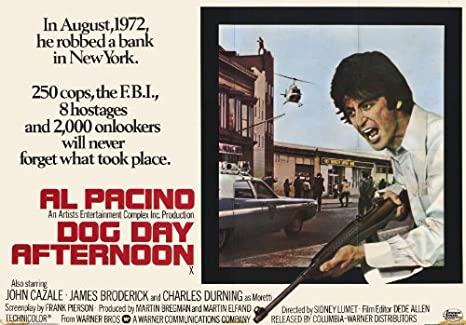 Racconti di Cinema – Quel pomeriggio di un giorno da cani di Sidney Lumet con Al Pacino