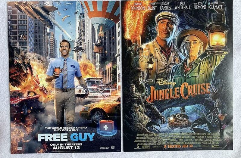 jungle-cruise-e-free-guy-ottobre-bluray-dvd-4k-copertina